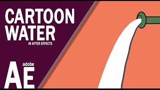 Wie Erstellen Sie Cartoon-Typ Wasser-In After Effects cc Praktisches System