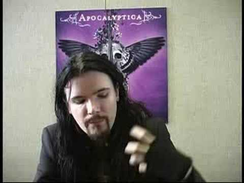 Apocalyptica Perttu Interview - I Don't Care Part 1