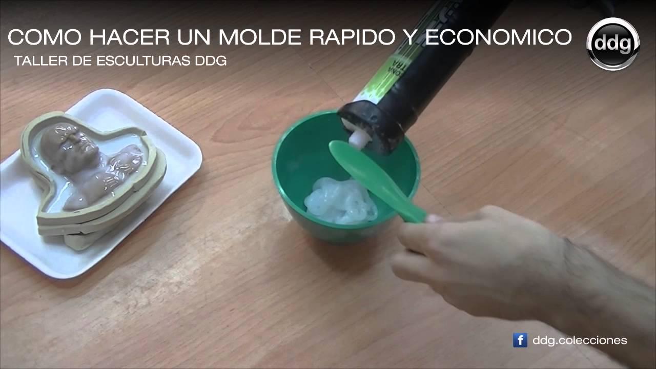 Como Hacer Un Molde De Silicona Rápido Y Económico Por Ddg Youtube