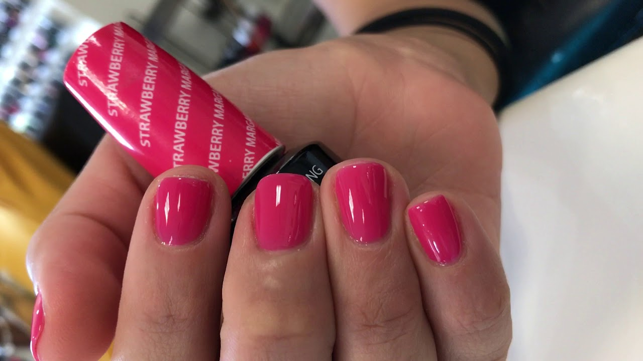 Strawberry Margarita Opi Gel Color Youtube