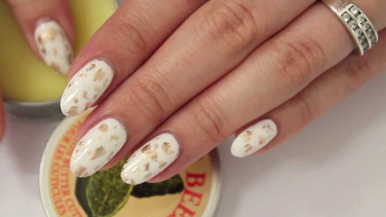 How To File Your Natural Nails Almond/ Round - Kirakiranail - YouTube