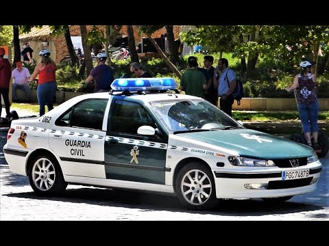 Peugeot 406 + Toyota Land Cruiser | Guardia Civil