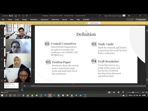[FULL ENG DUB] MUN 101 - Basics And Introduction Of Model United Nations