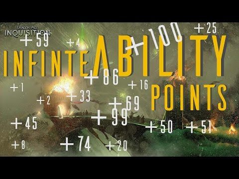 INFINITE ABILITY POINTS!! - Dragon Age Inquisition PC Mods