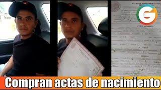 Compra su acta de nacimiento Guatemalteco en México #Chiapas