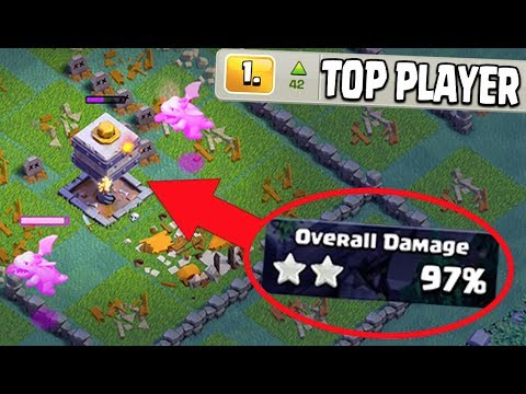 #1 PLAYER IN THE WORLD GETS 3 STARRED! HOW DID THEY DO IT? Clash of Clans