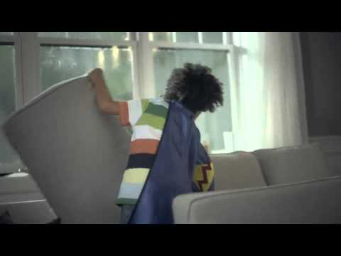 IKEA Commercial 2011 2012 couch fort tent 30 sec