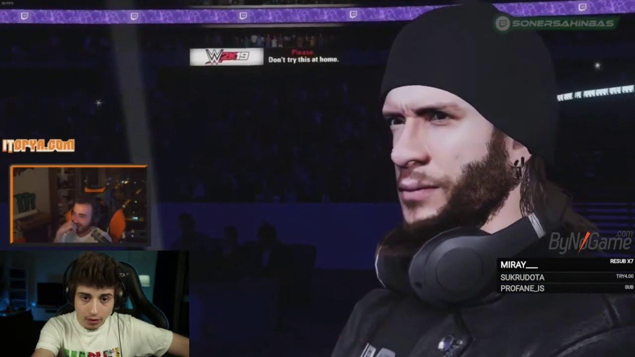 Elwind Efsane WWE Twitch Türkiye İzliyor
