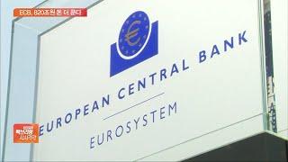 유럽중앙銀, 코로나19 대응 추가 채권 매입…금리 동결