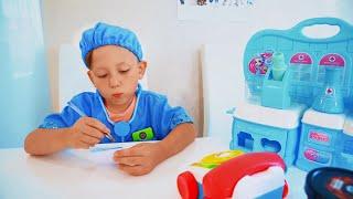 سينيا تلعب دور طبيب الحيوانات. مجموعة من القصص التربوية للأطفال