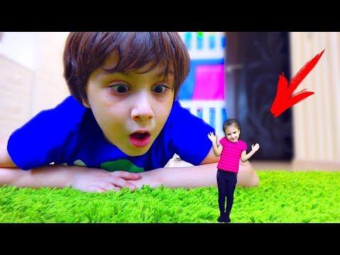 Камиль ПОТЕРЯЛ Аминку! Прятки или КУКЛА LOL! Для детей kids children - Как поздравить с Днем Рождения