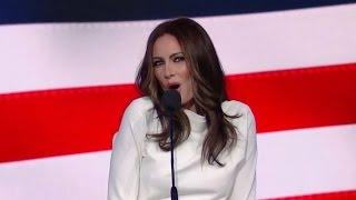 Laura Benanti Spoofs Melania Trump