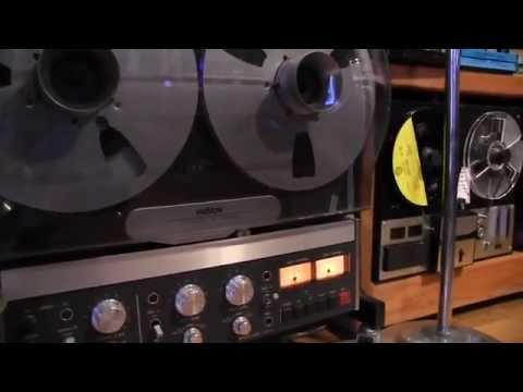 Vintage 3M Wollensak tape recorder  YouTube