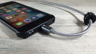 Best iPhone Charging Lightning Cable? It's made of metal!