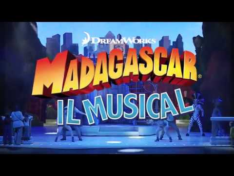 Madagascar Il Musical in tour in Italia