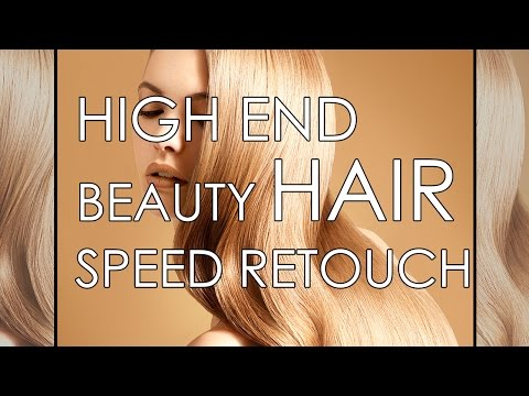 HIGH END SPEED HAIR SPEED RETOUCHING 1080P
