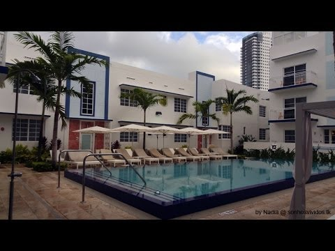 Miami Beach Pestana South Beach Art Deco Hotel Youtube