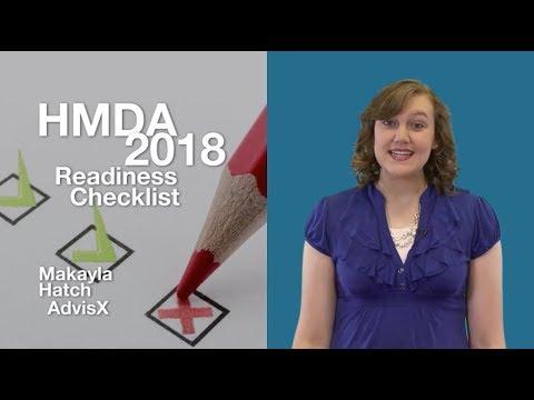 Risk Watch 139: HMDA 2018 Readiness Checklist