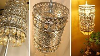 DIY - Bohemian Crystal Table Lamp