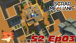 Scrap Mechanic S02E03 - On construit un gyroscope et la ville s
