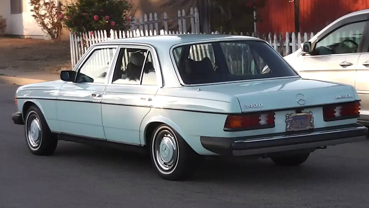 Sold 1978 mercedes benz 240d diesel youtube for Mercedes benz 240 d