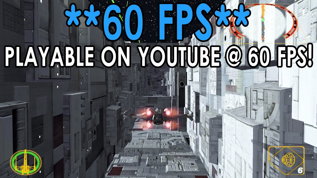 [60 FPS] Dolphin Emulator 4 0-5462   Star Wars Rogue Squadron II: Rogue  Leader [1080p HD]   GCN