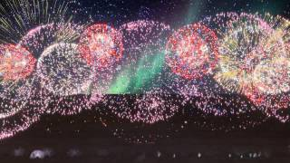 A Very Belated Fourth of July Celebration in August - Fireworks Spectacular - HD - FWSim thumbnail