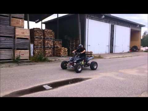 Yamaha Raptor 700 with Suzuki GSXR 1000 Turbo engine