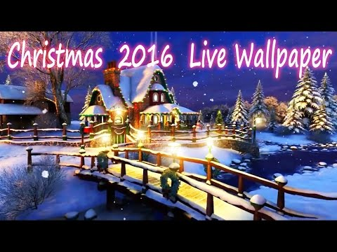 Christmas 2016 Live Wallpaper - Free 3D