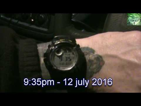 Flat Earth – 1st Hand Observations – 12 June 2016 – Half moon over 6 hrs