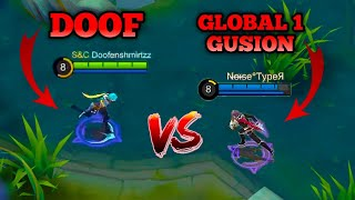 DOOFENSHMIRTZZ GUSION MONTAGE | BEST GUSION YOU WILL EVER SEE IN MOBILE LEGENDS