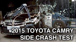 2015 Toyota Camry | Side Crash Test