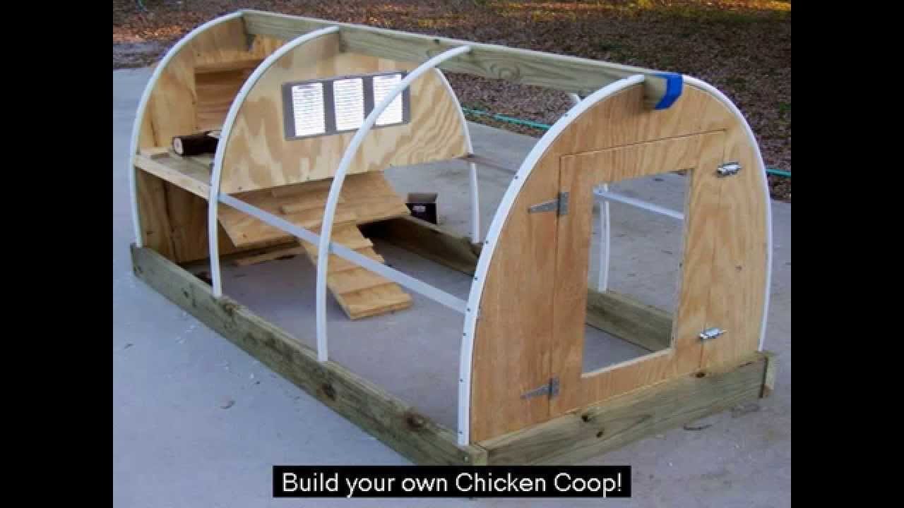 Do It Yourself House Drafting: Chicken House Plan
