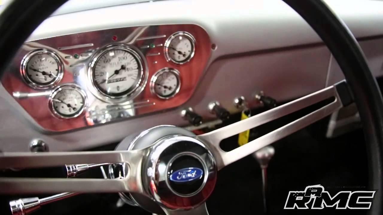 1954 Ford F100 Custom Pickup For Sale Youtube