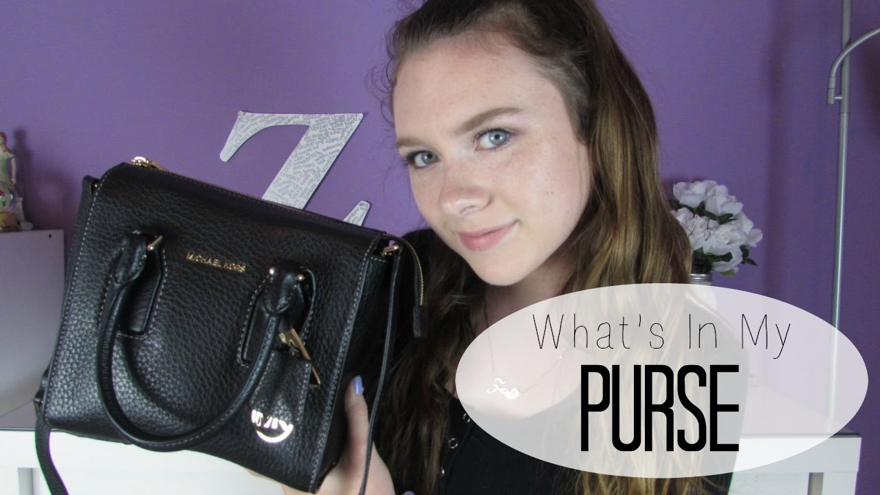 2bec798df20e What s In My Purse 2016