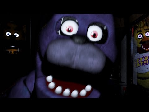 WARNING: SCARIEST GAME IN YEARS | Five Nights at Freddy's - Part 1