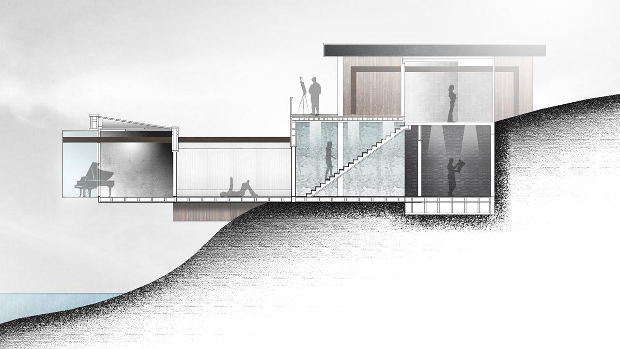 Como Fazer Um Corte De Arquitetura Passo A Passo