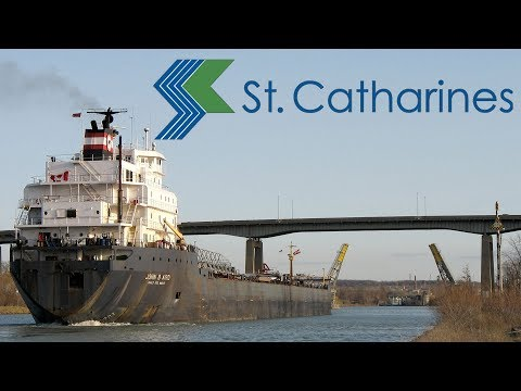 Driving In St Catharines, Ontario, Niagara Region
