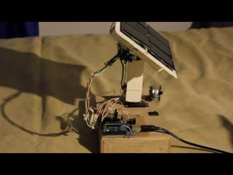 Solar panel tracking system with Arduino UNO