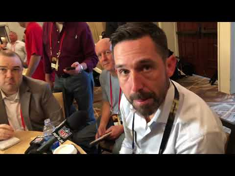 Kyle Shanahan SF 49ers Head Coach At NFL Annual Meeting 2019