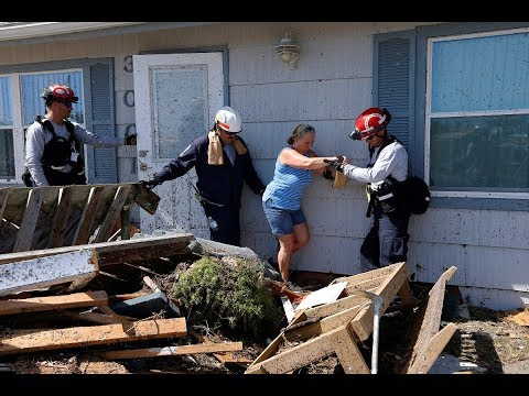 Hundreds still unaccounted for after Hurricane Michael ravages Florida