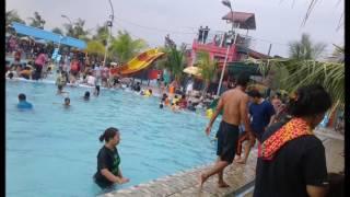 Marvel & Dinda ( Episode Berenang @Water Park Tirta mas Tj.Morawa ) Selasa 28 Maret 2017