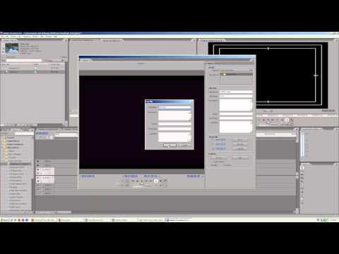 Adobe Premiere CS3 How to Capture Video