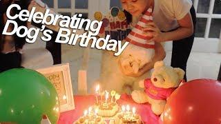 Celebrating Dog's Birthday   Ranz and Niana