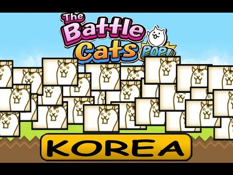 Battle Cats POP!: Ten Minutes (Give or take a few seconds) of Korea