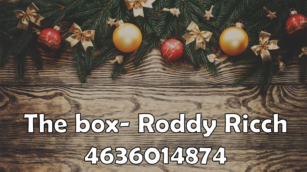 Roblox Music Codes Id 2020 The Box Roddy Ricch Youtube