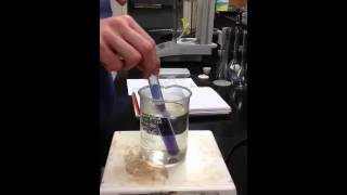 Heating cobalt(II) chloride solution