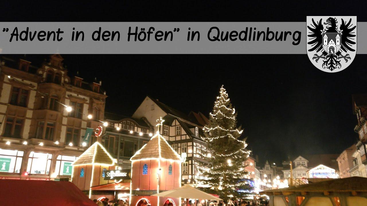 advent in den h fen quedlinburg harz youtube. Black Bedroom Furniture Sets. Home Design Ideas