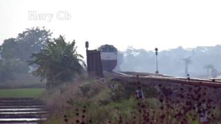 Super ngebut s35 Kereta Bangun Kt dr ujung sawah jelang magrih