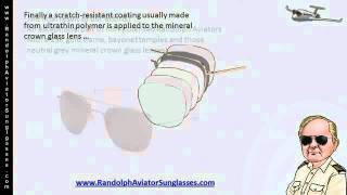 How Randolph Aviator Sunglasses Lenses Are Constructed